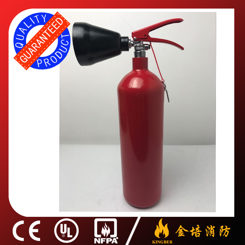 Hot quality 2KG Portable GB Alloy-steel CO2 Fire Extinguisher