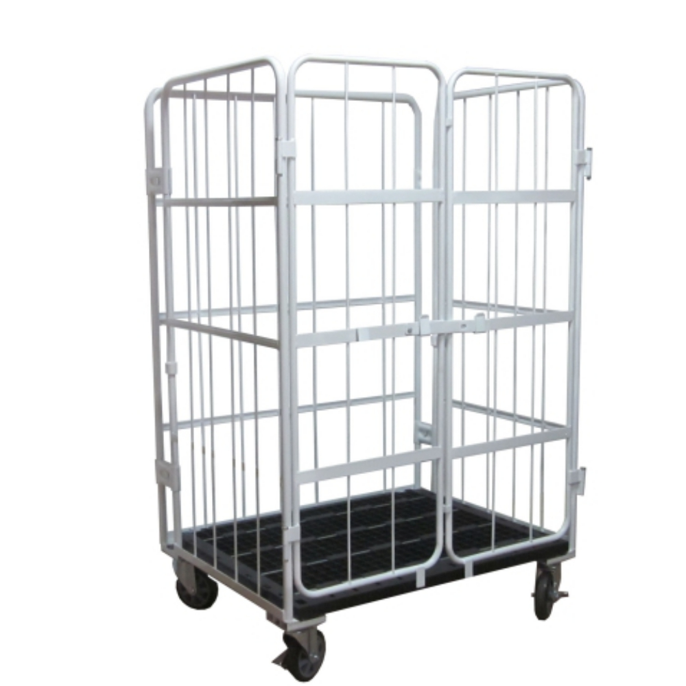 500kg Capacity Roll Container Japanese Style with 6'' Caster
