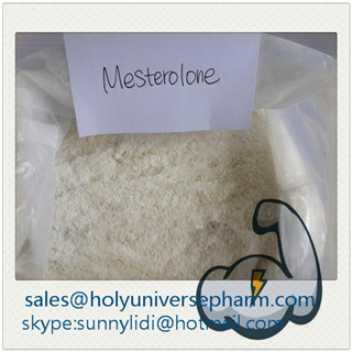 Mesterolone Proviron/Muscle building steroid raw /Cas1424-00-6