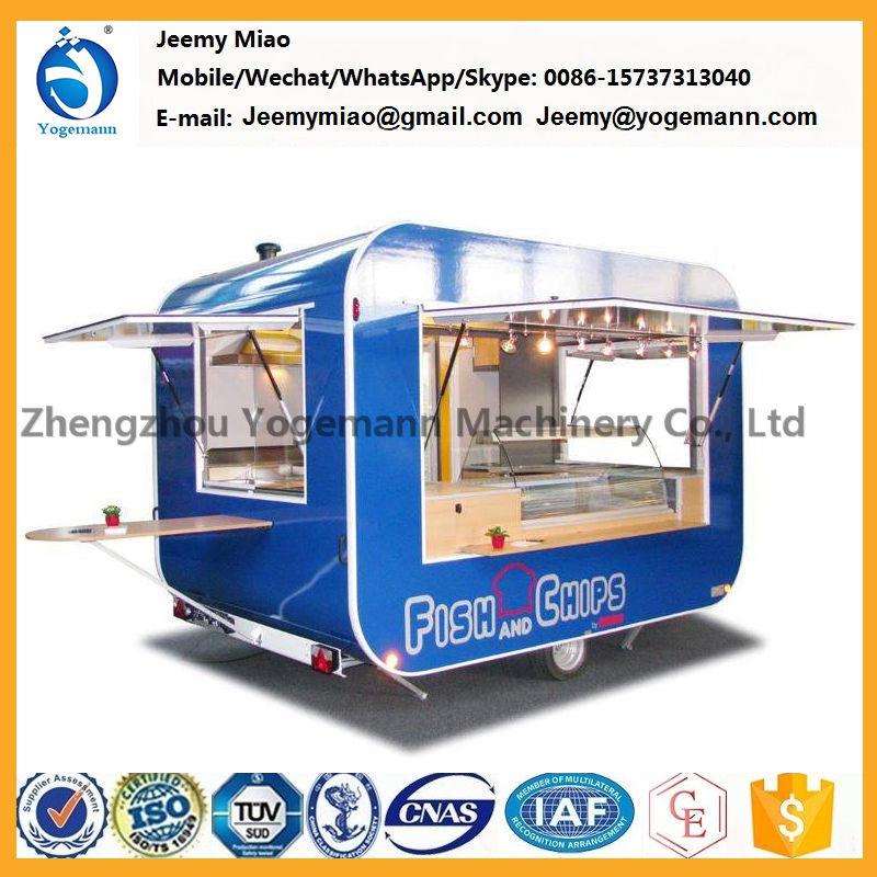 Mobile Kebab Catering Food Cart Trailer Manufacturing