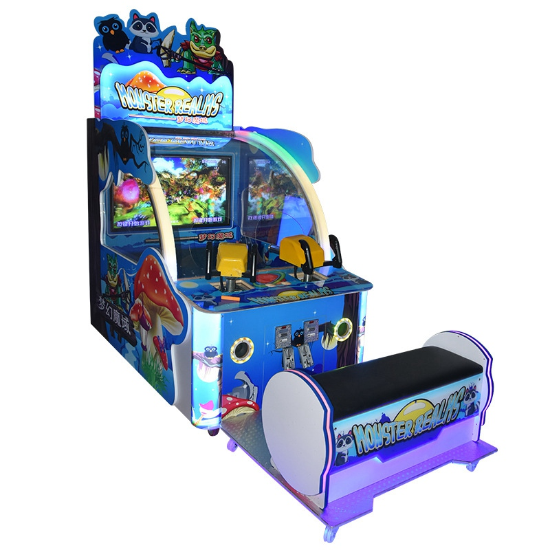 Ball Shooting Games Monster Shooting the Balls Video Games Coin Operated Indoor Amusement Games