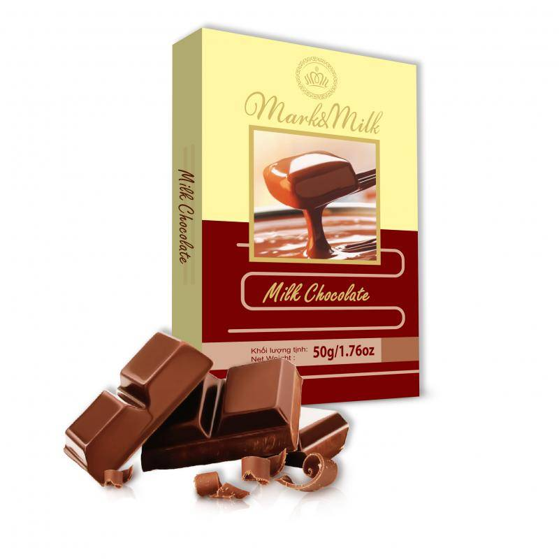 MARK&MILK MILK CHOCOLATE 50G