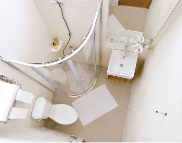 PUDA Flat Pack Prefabricated Bathroom