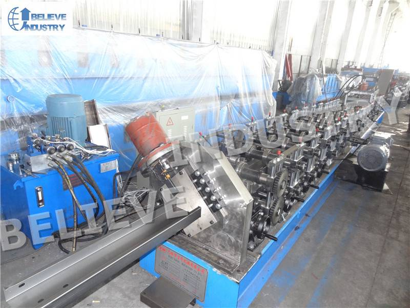 C and Z Purlin Interchangeable Roll Forming Machine