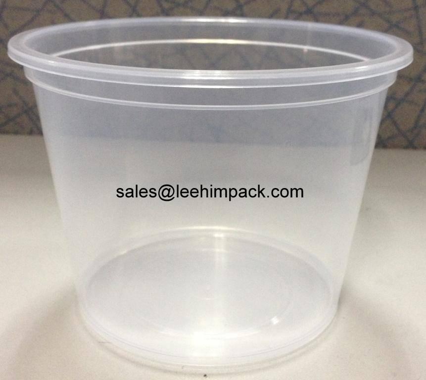 Food grade polypropylene bucket for yogurt