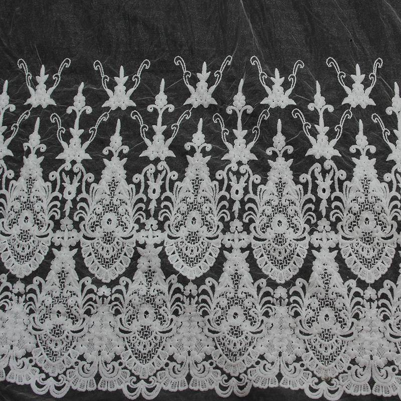 cheap nigerian voile lace overlay fabric