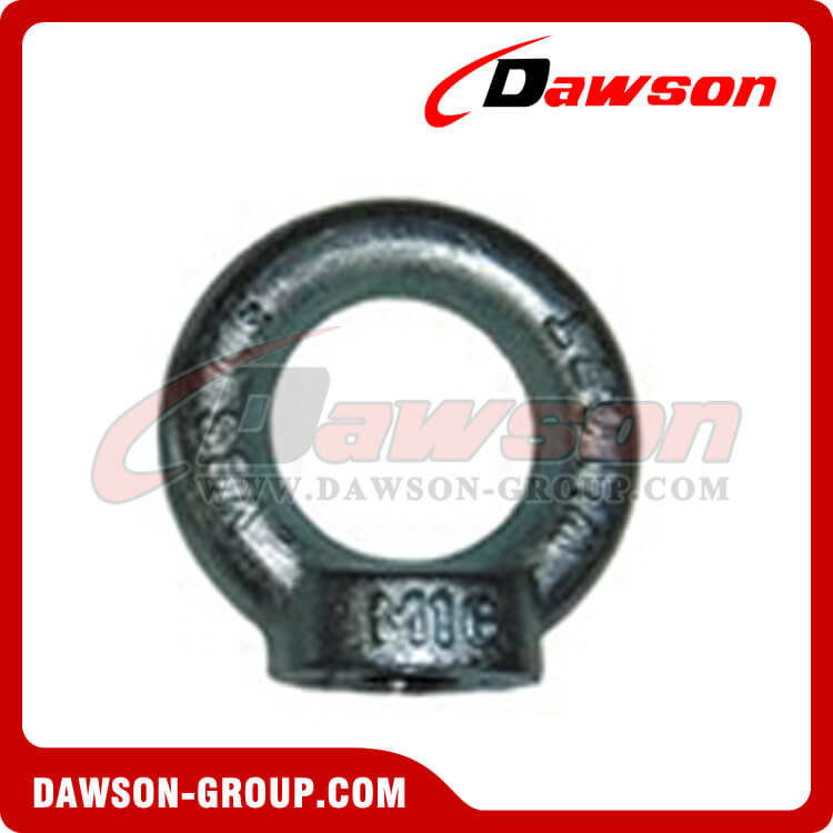 DIN582 galvanized eye nuts lifting ring nut