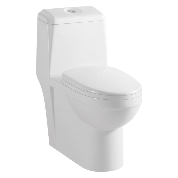 CUPC Siphon Jet Flushing One-piece Ceramic Toilet