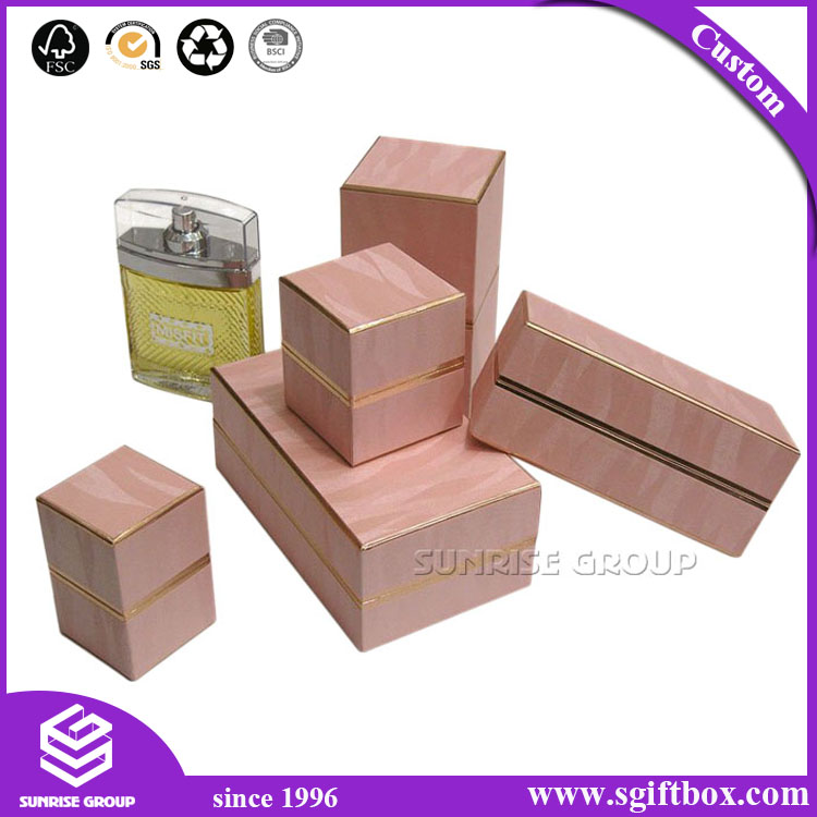 Custom Logo Design Cosmetic Folding Gift Paper Packaging Perfume Box