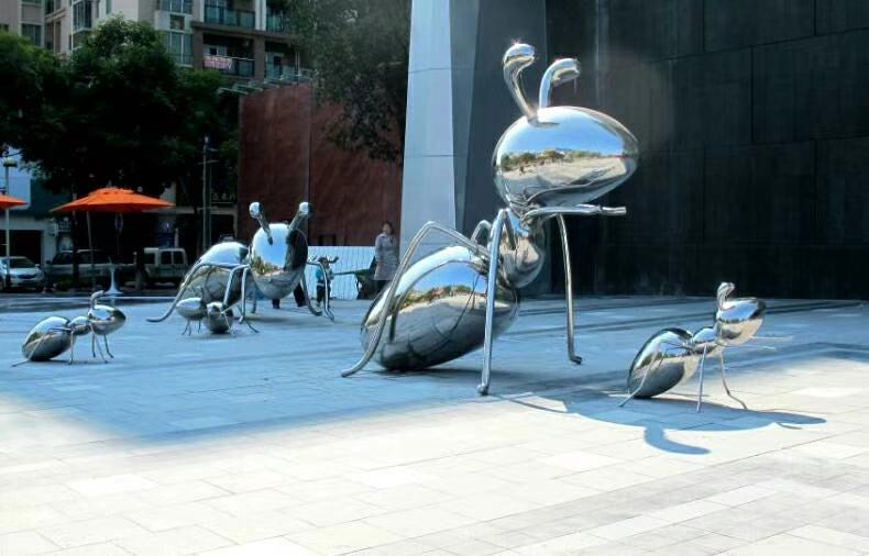 Customized Modern Insect Metal Art Sculpture