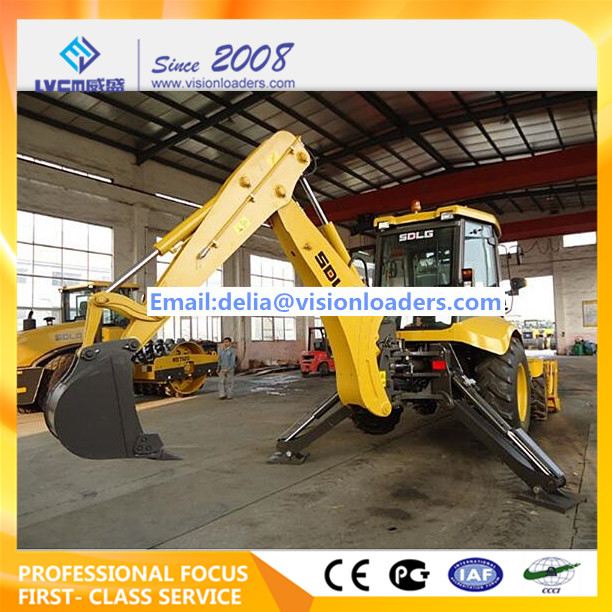 SDLG Backhoe loader LGB876 Excavator loader B876 for sale