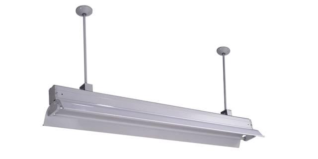 Supermarket Light Aluminum Alloy Housing with Tube Fluorescent Pendant Light