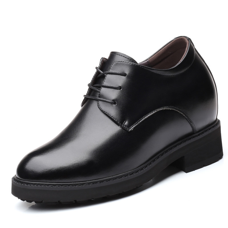 New Extra High Total 11 cm Height Increasing Men's Dress Formal Shoes