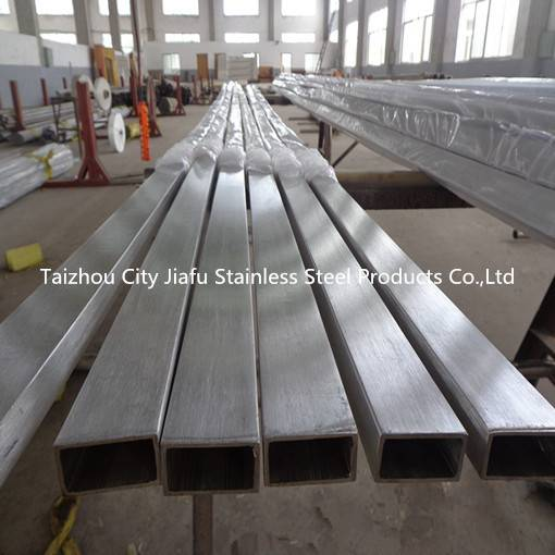A312 TP304 Seamless Stainless Steel Square Pipe /Tube