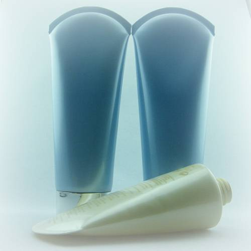 Plastic LLDPE tube pipe 180ml 250ml for cosmetic personal hair face care shampoo body lotion conditi
