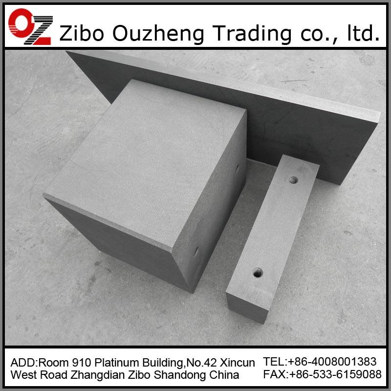 High pure graphite block
