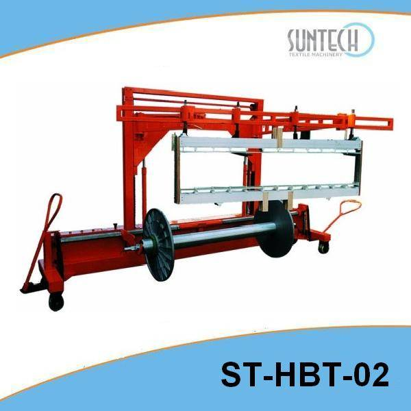 Hydraulic Warp Beam Lift Trolley with Harness Mounting Device(ST-HBT-02)