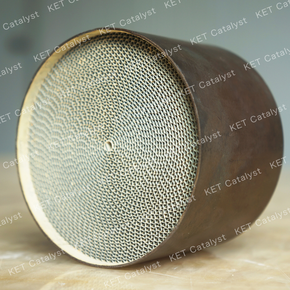 Hot sell honeycomb metal catalyst with precious metal coating