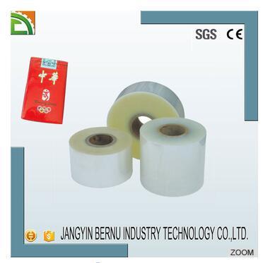 heat shrinkage wholesale bopp soft cigarette pack film