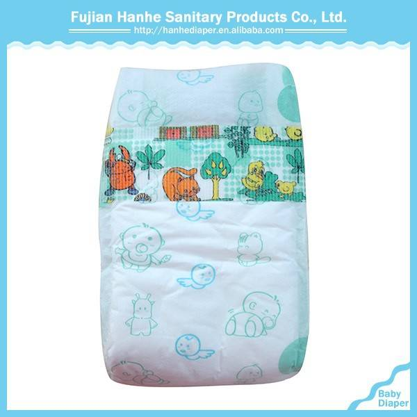 Disposable cloth baby diapers