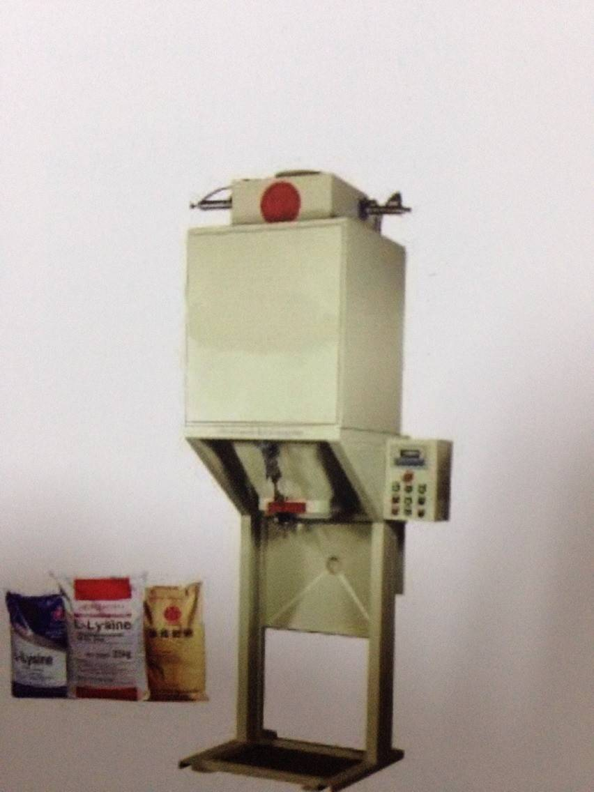 semi-automatic weighing packaging unit