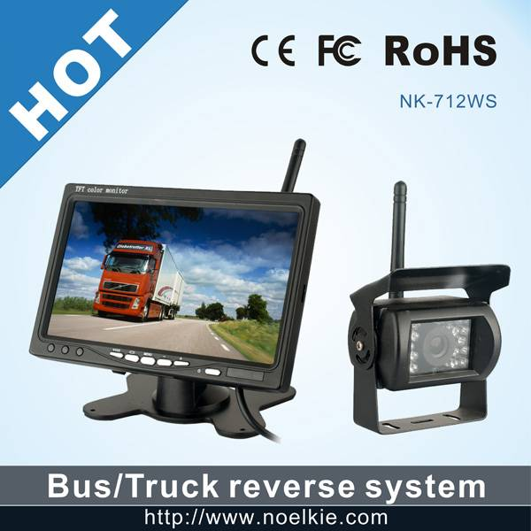 7 inch 2.4GHz digital Wireless Car Camera System