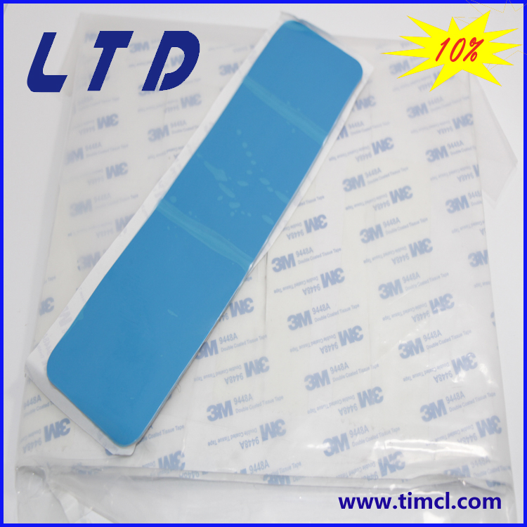 thermal pads with adhesive cooling pad for LED light heat transfer pad thermal conductive pad