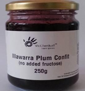 Illawarra plum confit (250g)