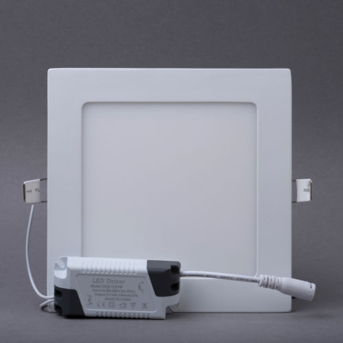 12W LED Square Panel Light with CE/EMC/LVD/Bis/SAA/C-tick Certified