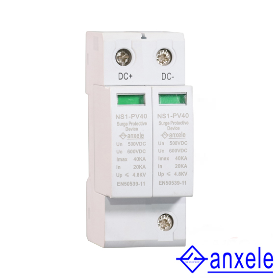 NS1-PV40 2P 500V Surge Protection Device