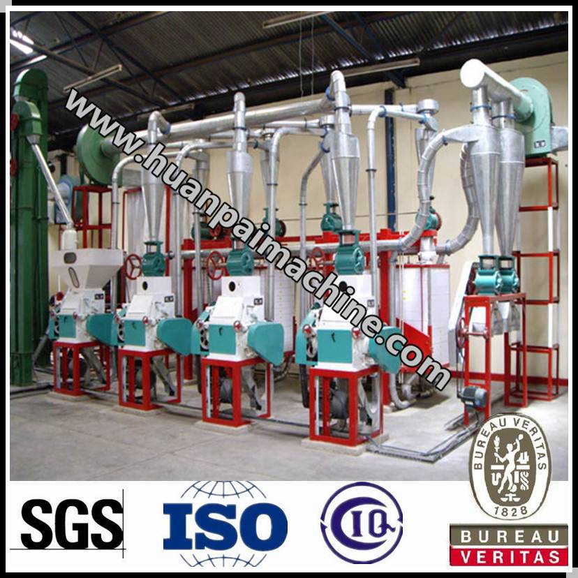 Hot sale with good quality maize flour mill project