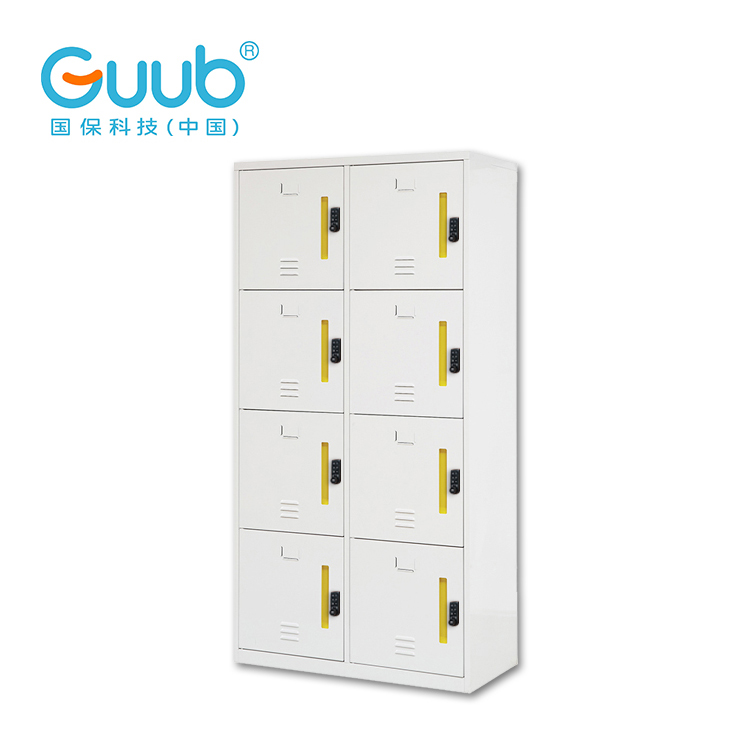 Industrial metal locker cabinets, smart lock metal storage cabinet