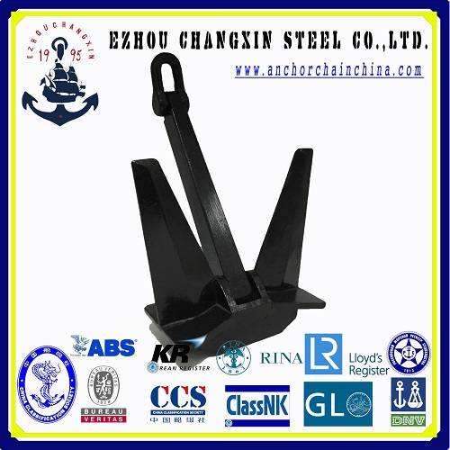 The worldsale ship anchor Marine ship anchor HHP pool anchor type N/TW for ship for sale in china