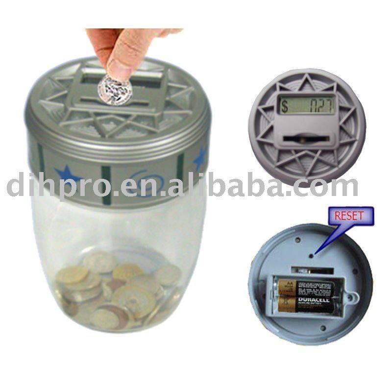 Money saving jar
