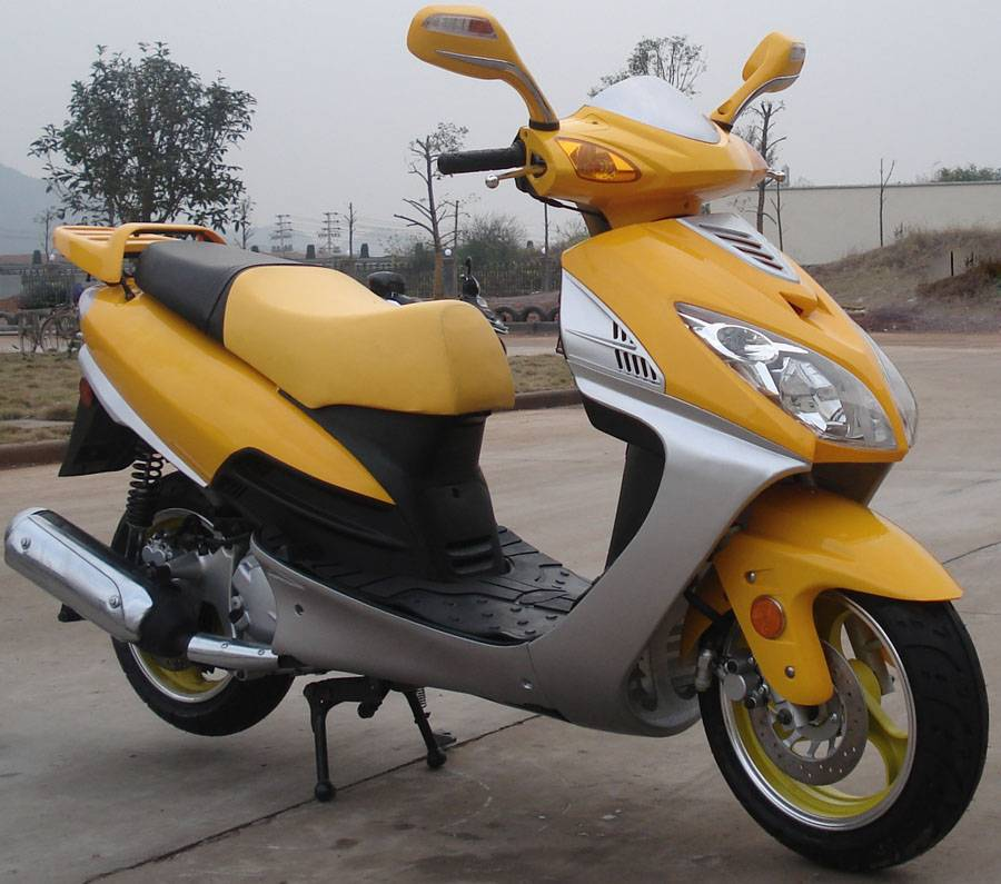 150cc Gas Scooter:  G808