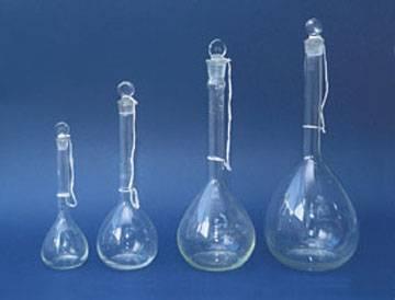 Lab volumetric flask
