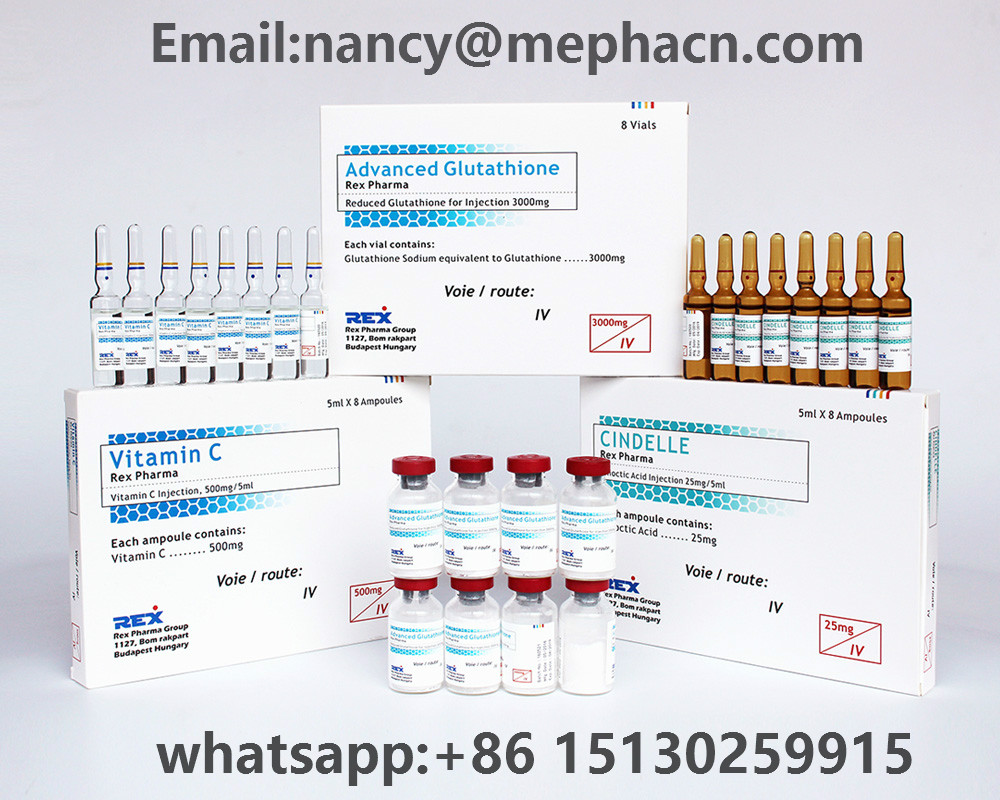 Glutathion injection for skin whitening 1500mg 3000mg