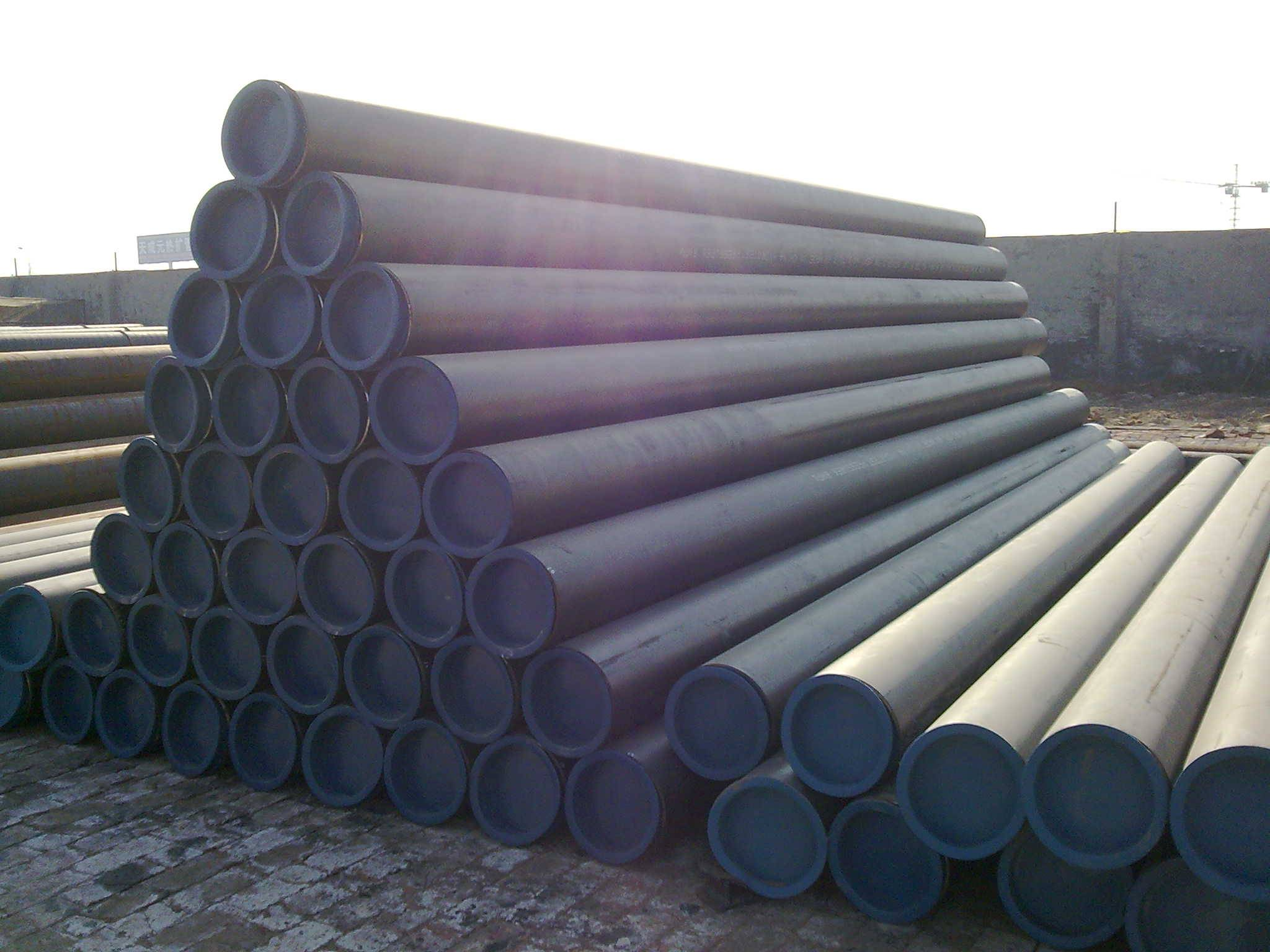 Large-diameter seamless tube,carbon seamless steel,A106 SEAMLESS STEEL