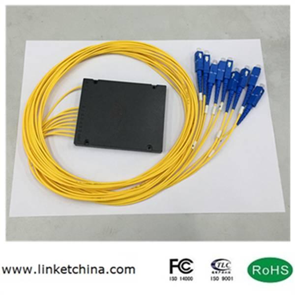 PLC splitter 1*8 ABS box SC/UPC 2.0mm