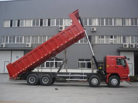 HOWO tipper/mining tipper/8*4 dump truck/high quality and low price/tipper made in China