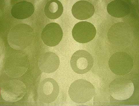 Poly Taffeta Jacquard Silk Fabric