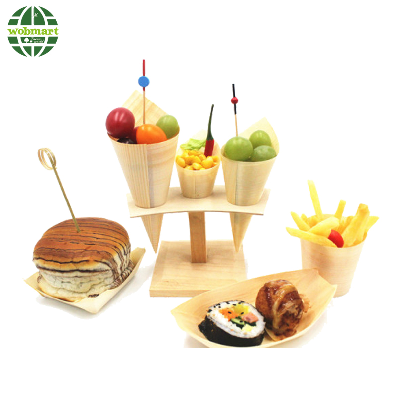 Party Food Picks Decorative Bamboo Picks