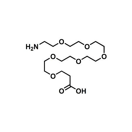 Amino-PEG6-propionic acid; H2N-PEG6-CH2CH2COOH; CAS#905954-28-1