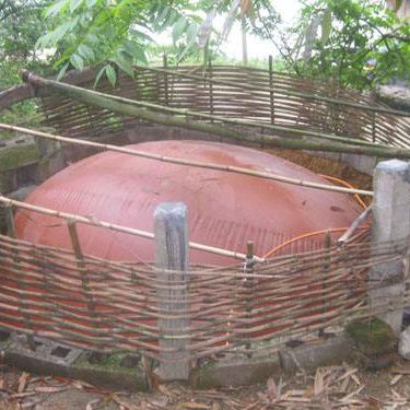 China giant biogas plant for generating