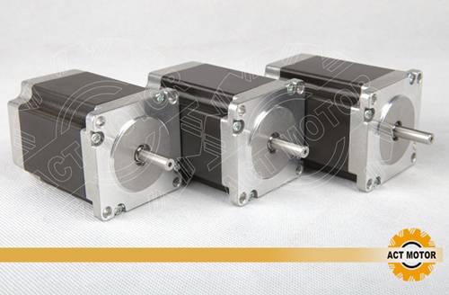 3PCS Nema23 stepper motor 23HS8430 3D 57BYG 1.9NM 3.0A CNC CE