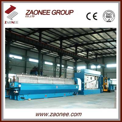 copper/cable wire drawing machine with annealing