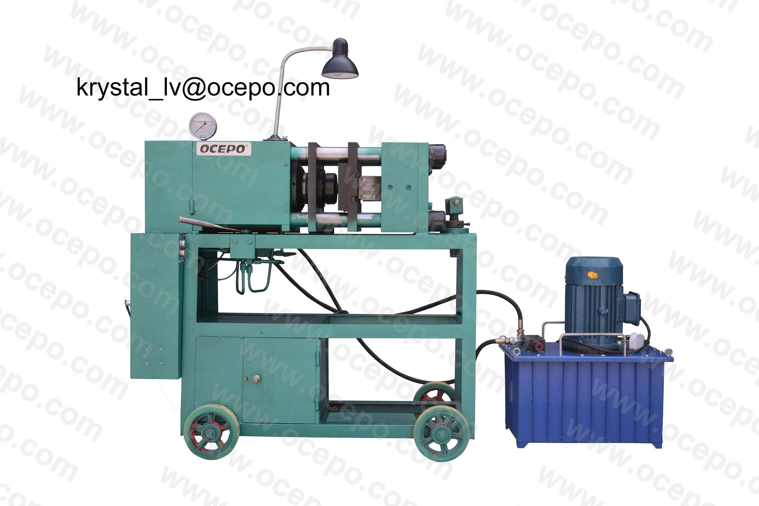 GD-150 Semi-automatic Rebar End Upset Forging Machine