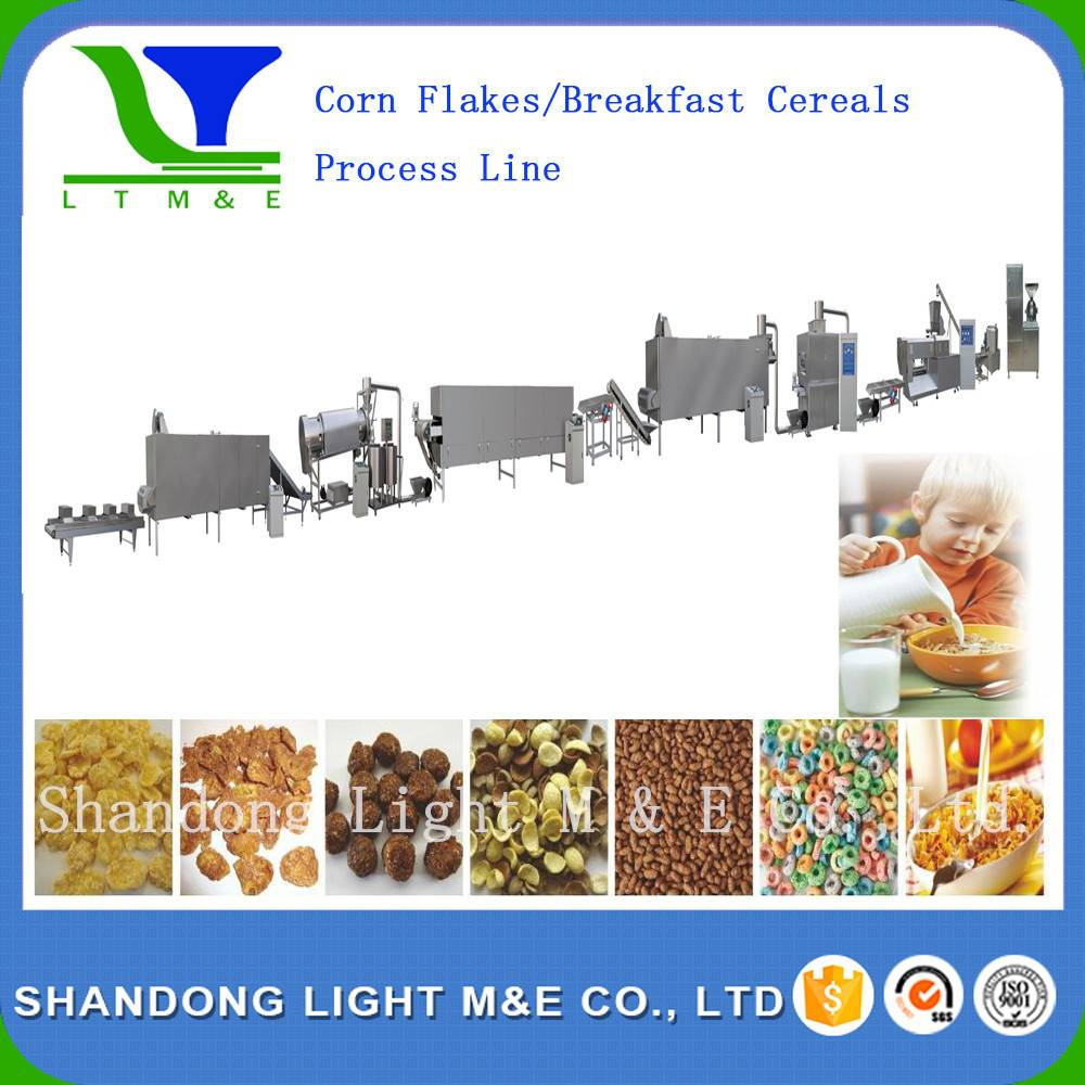 Corn flakes /breakfast cereals process line