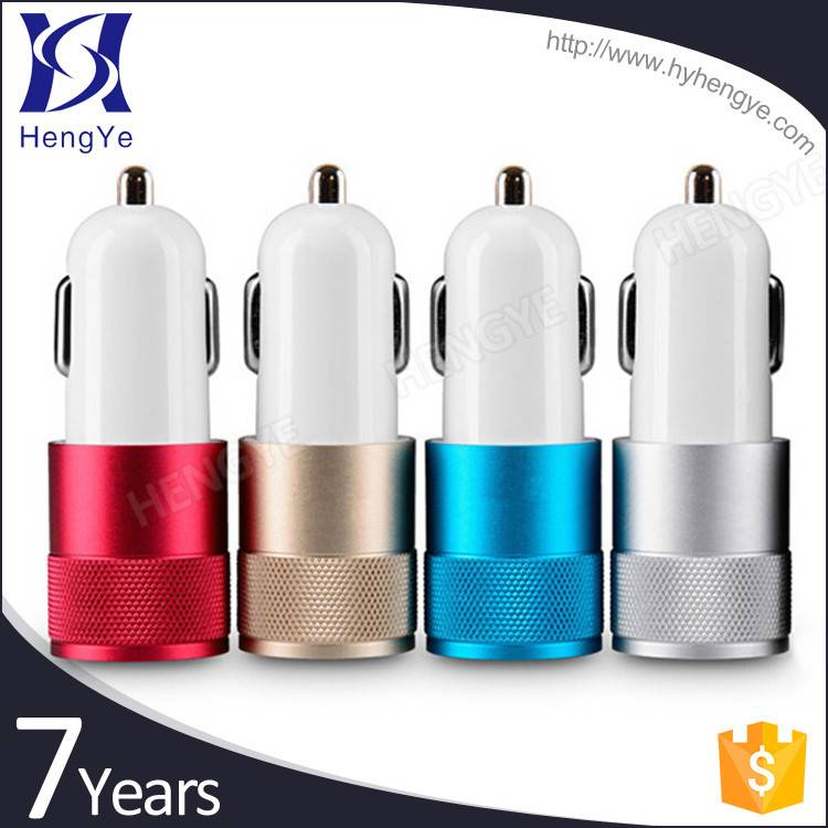 2016 Hot promotion mini universal fast charger/ phone charger / dual usb car charger with OEM servic