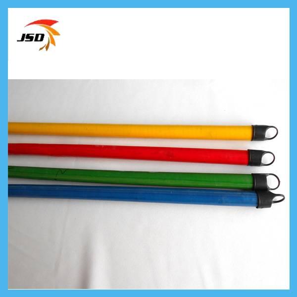 Single color pvc design eucalyptus mop stick